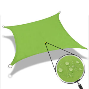 Popular 160gsm Beige/grey/dark grey polyester sun shade sail canopy for patio, garden