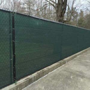 Hot sale 6*50ft dark green HDPE Privacy screen fence,windscreen sun shade cloth net