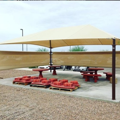 CARPORT SHADE CLOTH